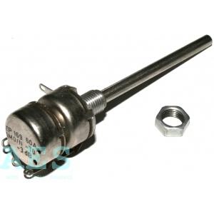Tandemový potenciometr TP169 60A 2x1M0/N, TESLA: 4,3809Kč/ks