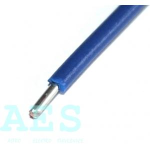 Jednožilový neohebný kabel 1,5mm^2, bílý, KABLO KLADNO, k. p.: 2,76Kč/m