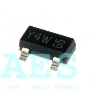 BZX84C15 - zenerova dioda 15V/0,25W: 0,17Kč/ks