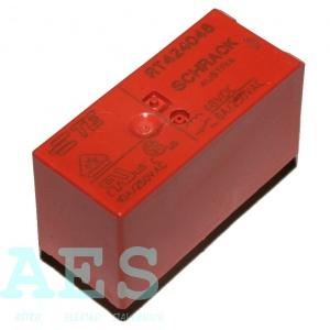 Přepínací relé SCHRACK RT424048- 2x250VAC/8A: 12,7036Kč/ks až 15,2304Kč/ks