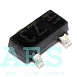 BZX84C5V1 - zenerova dioda 5,6V/0,25W
