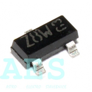 BZX84C9V1- zenerova dioda 9,1V/0,25W