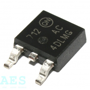 SMD triaky 600V/4A, typ MAC4DLMT4G , ON Semiconductor