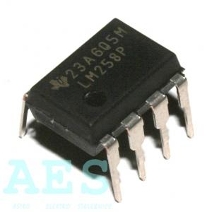 LM258P- univerzální OZ, výrobce TI: 1,80Kč/ks