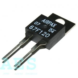 Miniaturní bimetalový termostat 67F120 : 34,362 Kč/ks