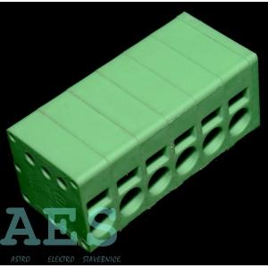 Svorkovnice do PCB SPT 2,5/ 6-V-5,0 - 1991134, 6 pinů: 3,9379Kč/ks