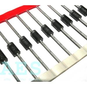 MUR460- rychlá dioda 600V/4A/75ns, ON Semiconductor: 1,4908 Kč/ks