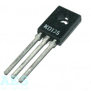 KD135- NPN tranzistor 45V/1,5A/12,5W- TESLA: od 2,1529 Kč/ks (s41)