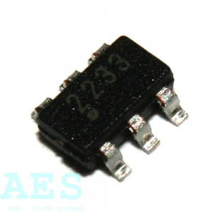 25AA020AT-I/OT- 256x8bit sériová EEPROM: 0,6241Kč/ks