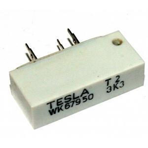 Víceotáčkový trimr 3k3, drátový WK 679 50, TESLA: 4,32Kč/ks