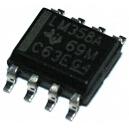 LM358A ( tj. lepší LM358 )- SMD univerzální OZ, výrobce TI: 1,80Kč/ks