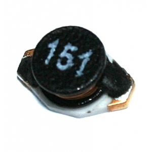 SMD tlumivka 150uH/0,25A, typ IDC-2512, Vishay: 1,11Kč/ks