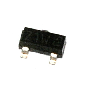 BZX84C4V7 - zenerova dioda 4,7V/0,25W: 0,17Kč/ks
