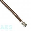 Jednožilový kabel 0,50mm^2, hnědý