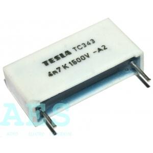 Polypropylénový kondenzátor 4n7/1500V- TC343: 1,51Kč/ks