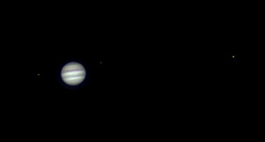 Fotka Jupiteru přes nejjednodušší techniku